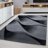 Modern vloerkleed - Jena Zwart 9240 80x150cm