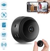 TKSTAR WIFI FHD 150 Mate Wijde Hoek 1080P Mini Spycam Infrarood Nachtzicht Draadloze Verborgen Camera Huis Beveiliging Gratis APP Zwart