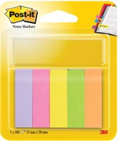 M Post-it index notes - 670/5 papier ultra - 5 kleuren