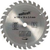 Wolfcraft Cirkelzaagblad 160mm
