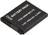 PATONA battery f. Panasonic DMW-BCL7E SZ9 SZ3 XS1 FS50 FH50 F5 BCL7