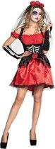 Volwassenenkostuum Catrina (40/42) - Carnavalskleding