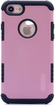 Teleplus iPhone 7 Armor Hybrid Double Layer Cover Case Rose Gold hoesje