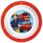 Brandweerman Sam diepbord melamine ø 20 cm.