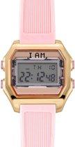 I AM THE WATCH - Horloge - 40mm - Rosé/roze - IAM-KIT03