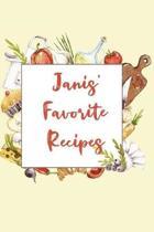 Janis' Favorite Recipes