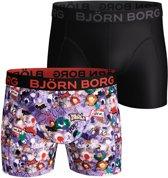 Bjorn Borg BB Graffiti wall Heren Boxershort - 2P - Multi   - Maat S