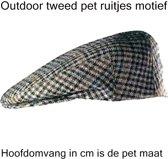 Outdoor tweed pet maat 62