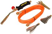 TOPEX Gas Dakbrander/Onkruidbrander set 17 - 22 - 40 mm