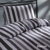 Day Dream Manuel - dekbedovertrek - eenpersoons - 140 x 200/220 cm - Grijs