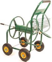 Tuinslanghaspel / Slangenwagen 4 wielen Geschikt Voor 100 meter