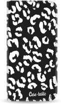 Casetastic Wallet Case Black Samsung Galaxy A6 (2018) - Leopard Print White