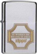 Zippo aansteker It Works