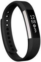 HIPFIT Siliconen bandje - Fitbit Alta (HR) - Zwart - Small