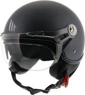 MT Soul Retro helm mat grijs