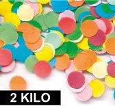 2 kilo Confetti multicolor