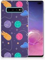 Samsung Galaxy S10 Plus Uniek TPU Hoesje Space