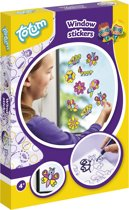 Totum Window Stickers - maak je eigen glitter raam stickers
