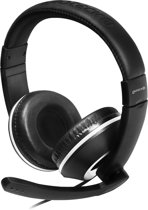 Gioteck XH-100 - Gaming Headset - Zwart/Wit - PS4 + Xbox One + PC + MAC