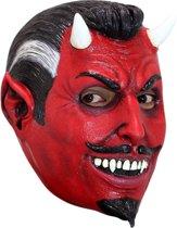 Hoofdmasker (Latex) El Diablo