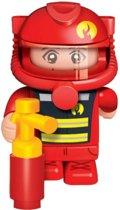 Banbao Speelfiguur Brandweerman 10 Cm