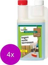 Luxan Terrasreiniger Concentraat - Algen- Mosbestrijding - 4 x 500 ml