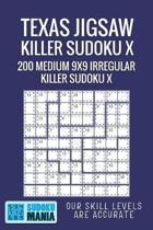 Texas Jigsaw Killer Sudoku X: 200 Medium 9x9 Irregular Killer Sudoku X