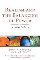 Realism and the Balancing of Power