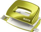 Leitz WOW metalen mini perforator, groen