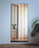 Tesa - Lamellenhor voor deuren (met magneet) - 95x220 cm - Antraciet
