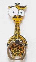 Giraf: Ring vinger houder / standaard voor telefoon of tablet