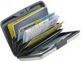 Aluminium portemonnee - Creditkaarthouder - Zwart