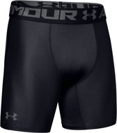 Under Armour HG Armour 2.0 Compressie Short Sportbroek Heren - Zwart - Maat M