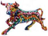 Gaudi Mozaïek: Stieren in 7 groottes: Materiaal: Polyresin: Beelden & Figuren