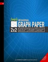 Simply 2x2 Graph Paper: Hexagonal Grid line ruled Composition Notebook, 8.5x 11in (Letter size), 120 pages, 2 hexagons per inch