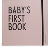 Design Letters baby's first book oud roze