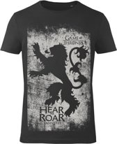 Game-of-Thrones-T-shirt-met-korte-mouw-zwart-maat-L