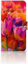 Nokia 6 Boekhoesje Design Tulips