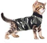 Suitical recovery suit kat zwart camouflage xxxs 29-37 cm
