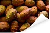 Een foto vol met gehoornde meloenen Poster 30x20 cm - klein - Foto print op Poster (wanddecoratie woonkamer / slaapkamer)
