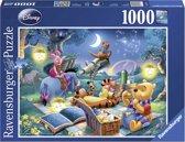 Ravensburger puzzel Disney Winnie the Pooh Sterrenkijken - Legpuzzel - 1000 stukjes