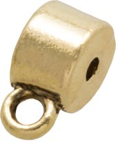 Tussenstuk 1 Oog (Binnenmaat 1 mm) Goud (10 Stuks)