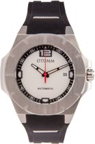 Automatic Model C Silver Dial Steel 45mm Black