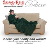 Gift House International Snug-Rug Deluxe Adult Racing - Deken - Groen