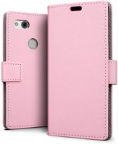 Google Pixel 2 XL hoesje - Book Wallet Case - roze