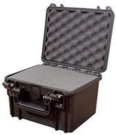 MAX235H155S Waterdichte koffer zwart met plukfoam binnenmaten 23,5 x 18,0 x 15,6 cm