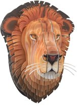 Leon Lifelike Lion Head (Small)