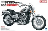 Honda Steed 400 VSE - Aoshima modelbouw pakket  1:12