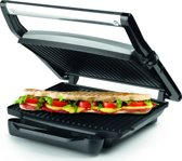 Princess 112412 Panini Grill / Contact Grill – Zwevend bovendeksel – Verticaal opbergbaar