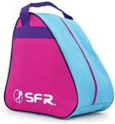 SFR Schaatstas - roze/blauw/paars